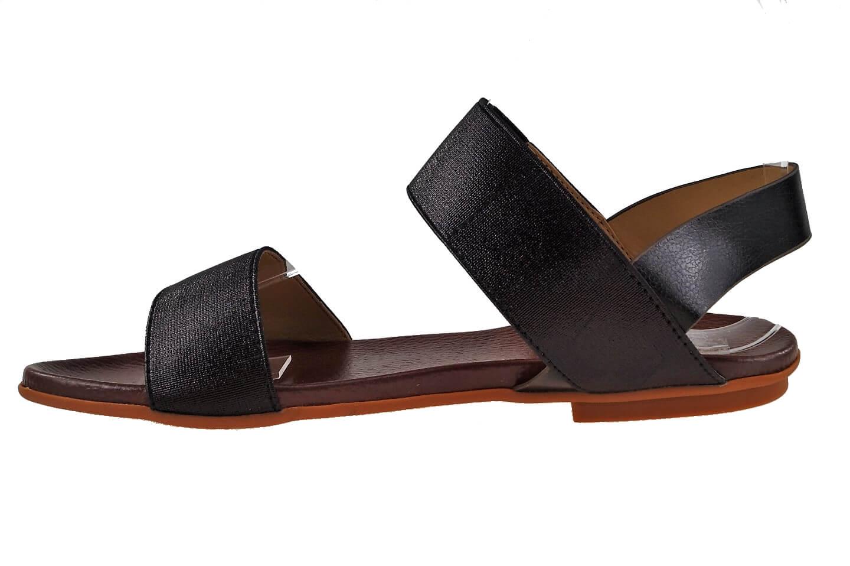 a821af7addea Dejlig sandal med elastik om anklen.