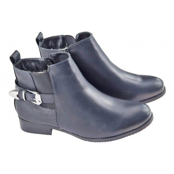 Ankelstøvle med foer
