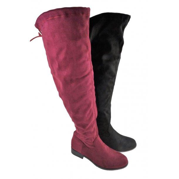 Overknee støvle