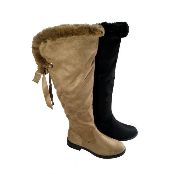 Langskaftet støvle
